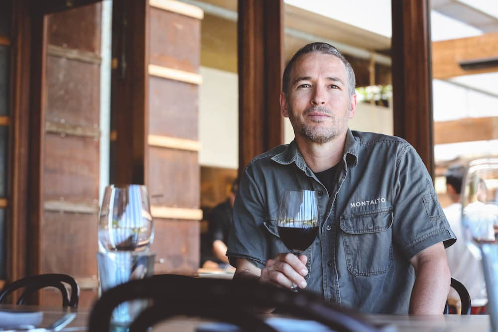 Simon Black Montalto winemaker