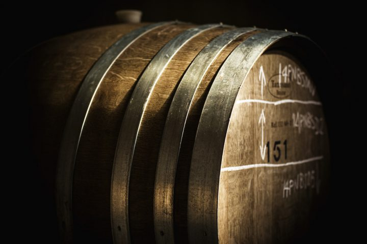Montalto wine barrel