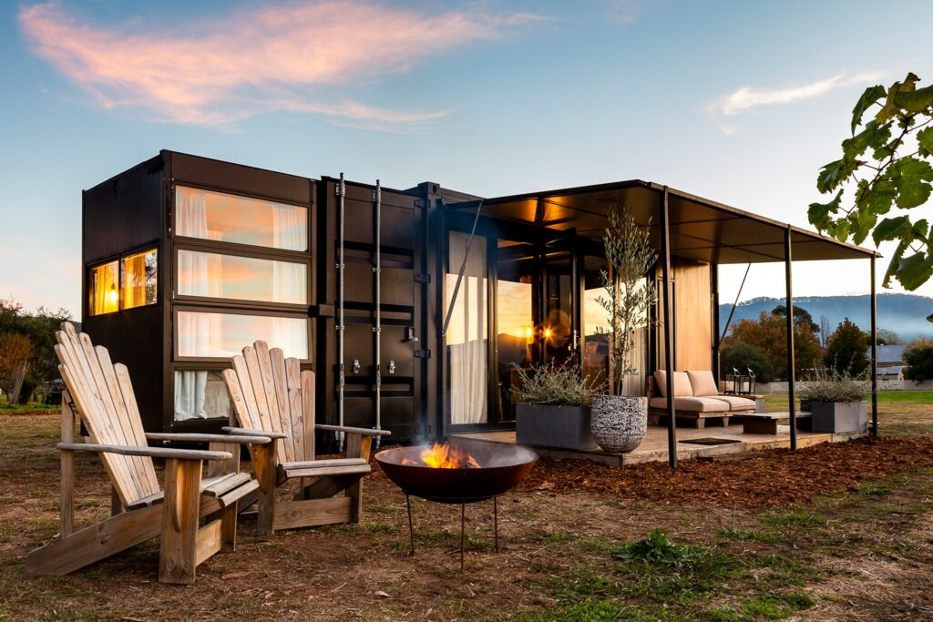 Container Hotel pop up